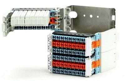 ADSL BRCP-сплитер блок 64 порта с возможностью установки защиты
