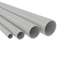 Труба ПВХ жесткая d25мм (дл.3м) ДКС