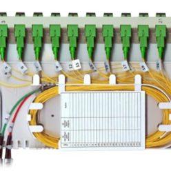 Модуль кроссовый откидной 8SC-8SC/APC-8SC/APC ССД КПВ